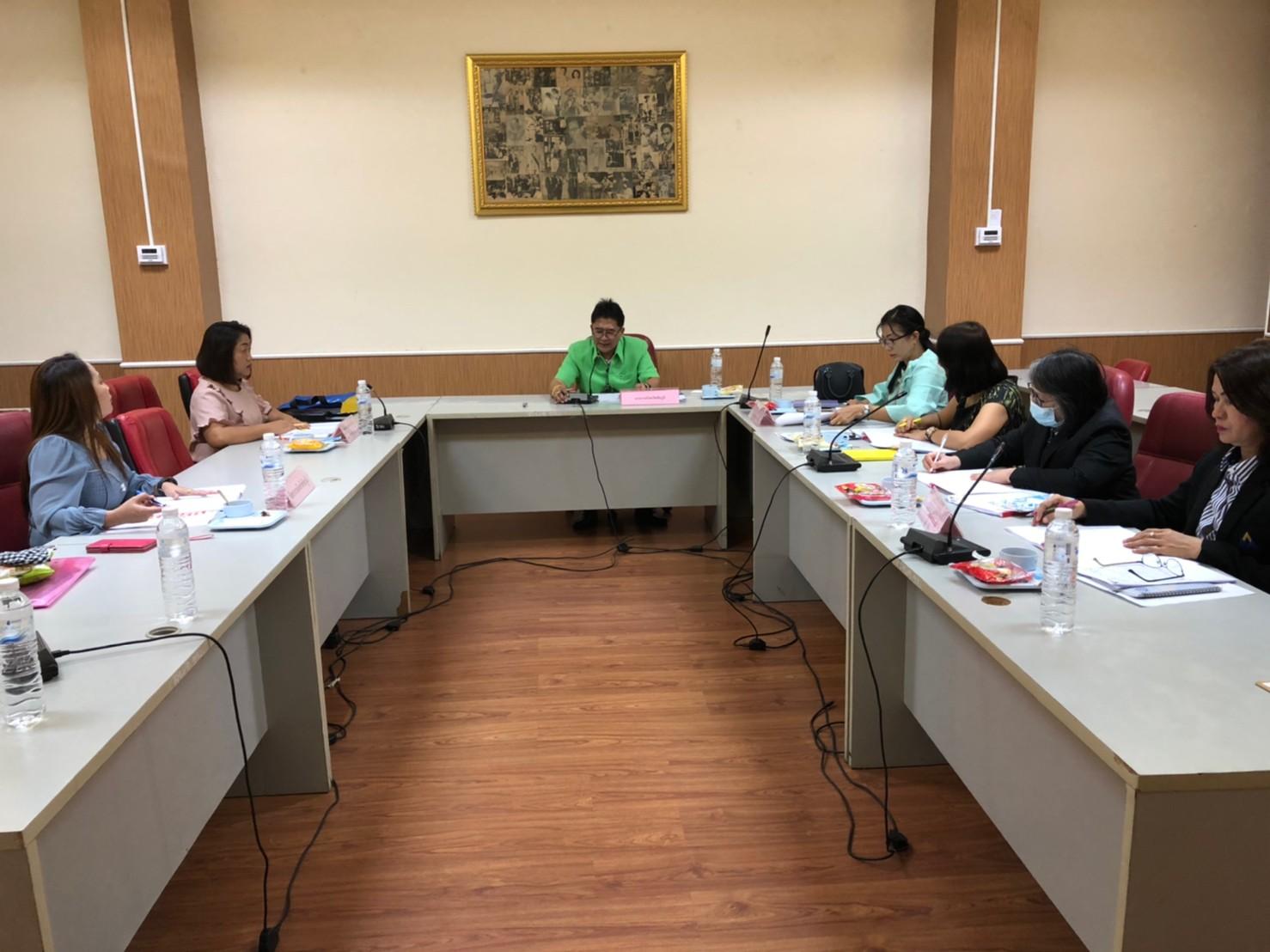 การประชุมหัวหน้าส่วนราชการสังกัดกระทรวงแรงงานจังหวัดชัยภูมิ ครั้งที่ 10/2563